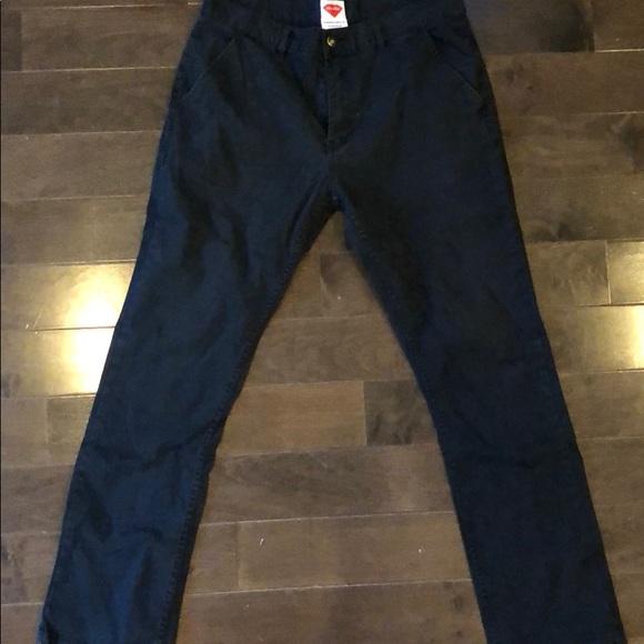 CHOCOLATE Skateboard Pants DIAMOND CHINO BLACK